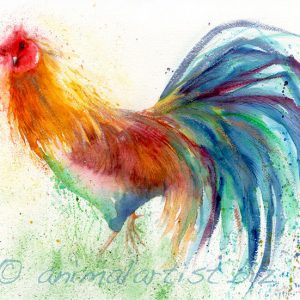 cockerel painting