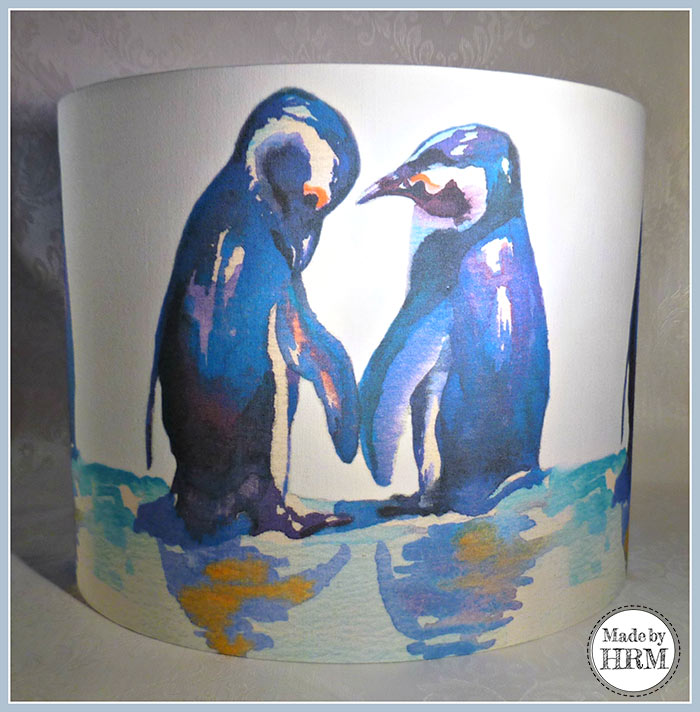 penguin lamp shade