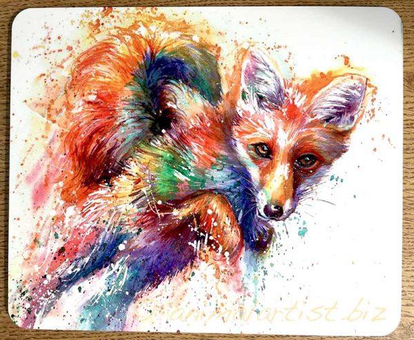 fox place mat