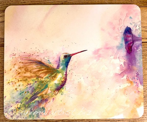 hummingbird place mat