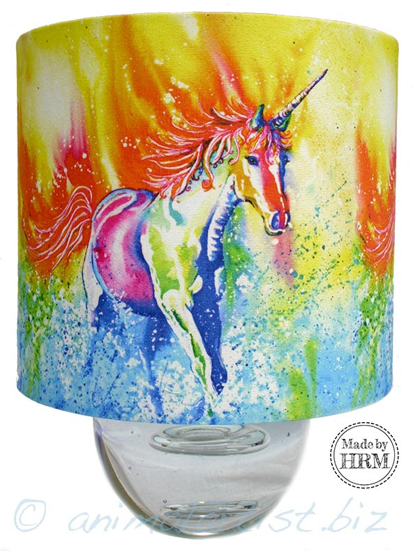 unicorn lamp shade